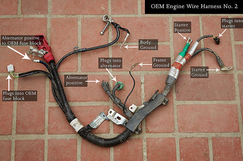 2015 toyota tacoma build big 3 upgrade bodenzord rh bodenzord com wiring harness for toyota pickup replacement wiring harness for toyota trucks