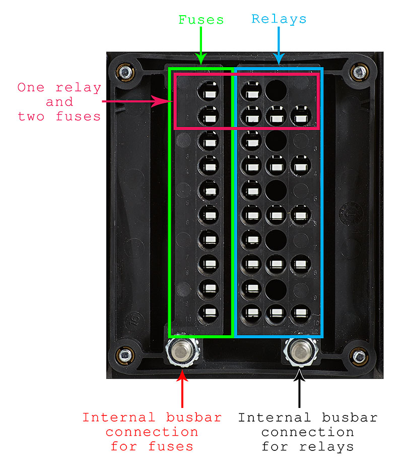 2015 06 04_BussmannRTMRMounted_Z2A2392_BottomOutlines_web800 diy bussmann rtmr fuse block, part 4 wiring and schematics building regulations fuse box location at cita.asia
