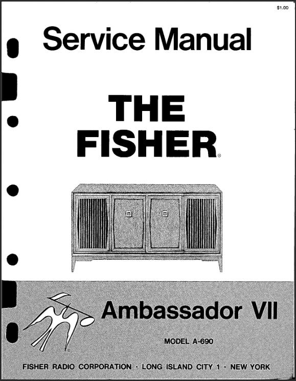1965FisherAmbassador_ServiceManualCover